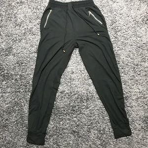 Indero Joggers Black with Rainbow Stripes Size S/M